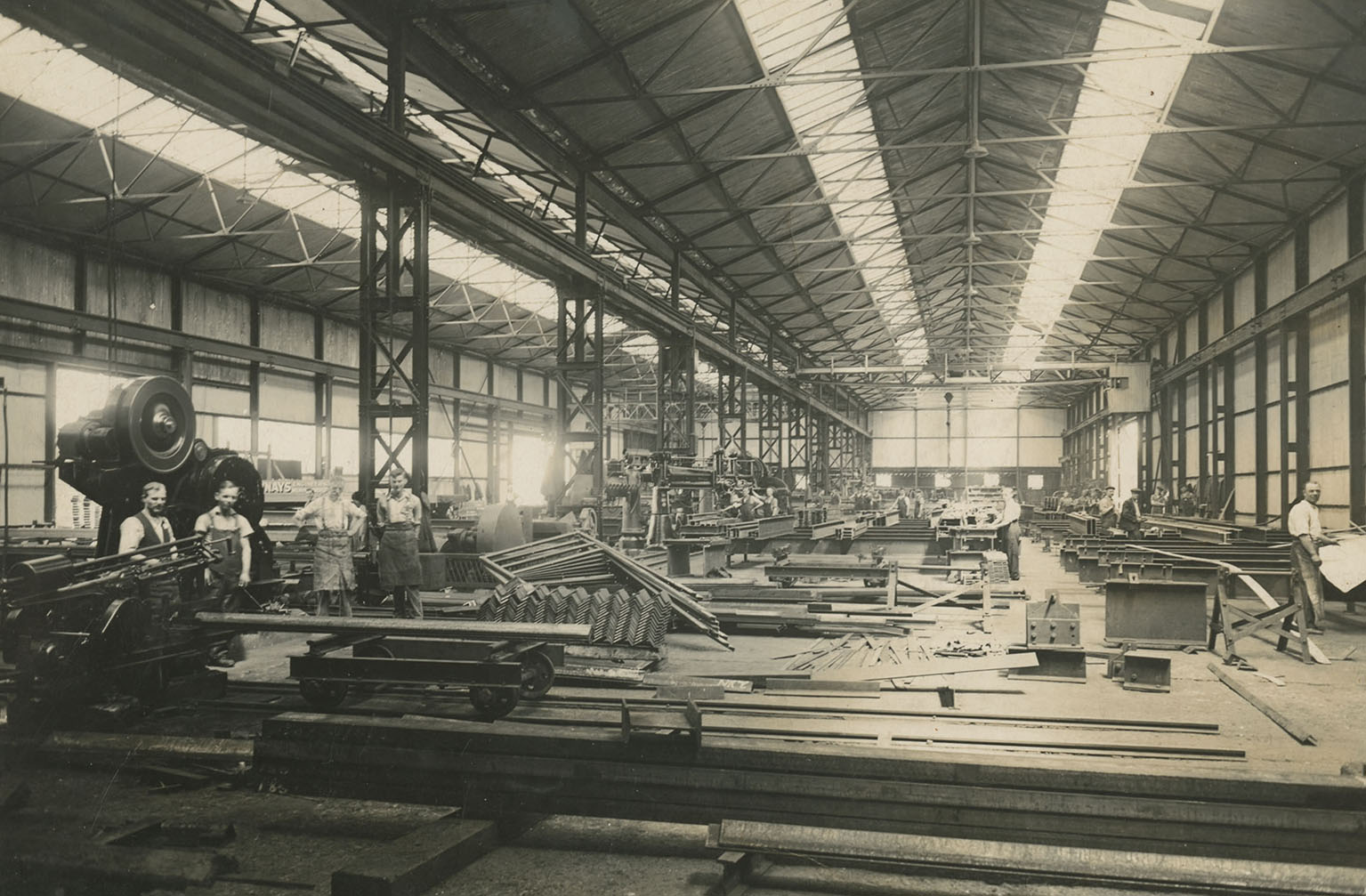 Dawnays factory interior